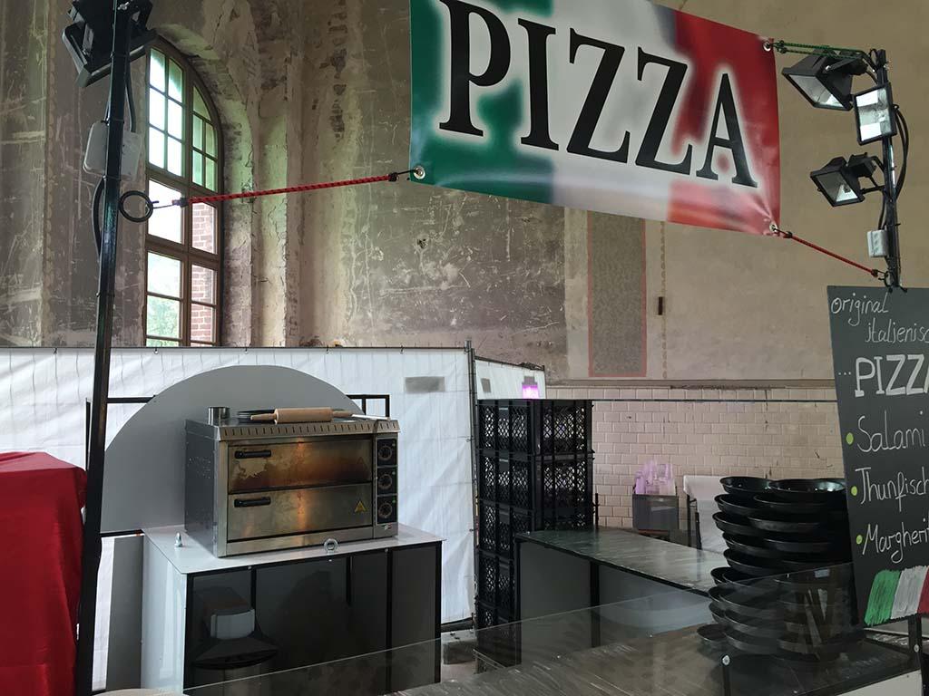 Pizza - Maschinenhalle - Funjoker
