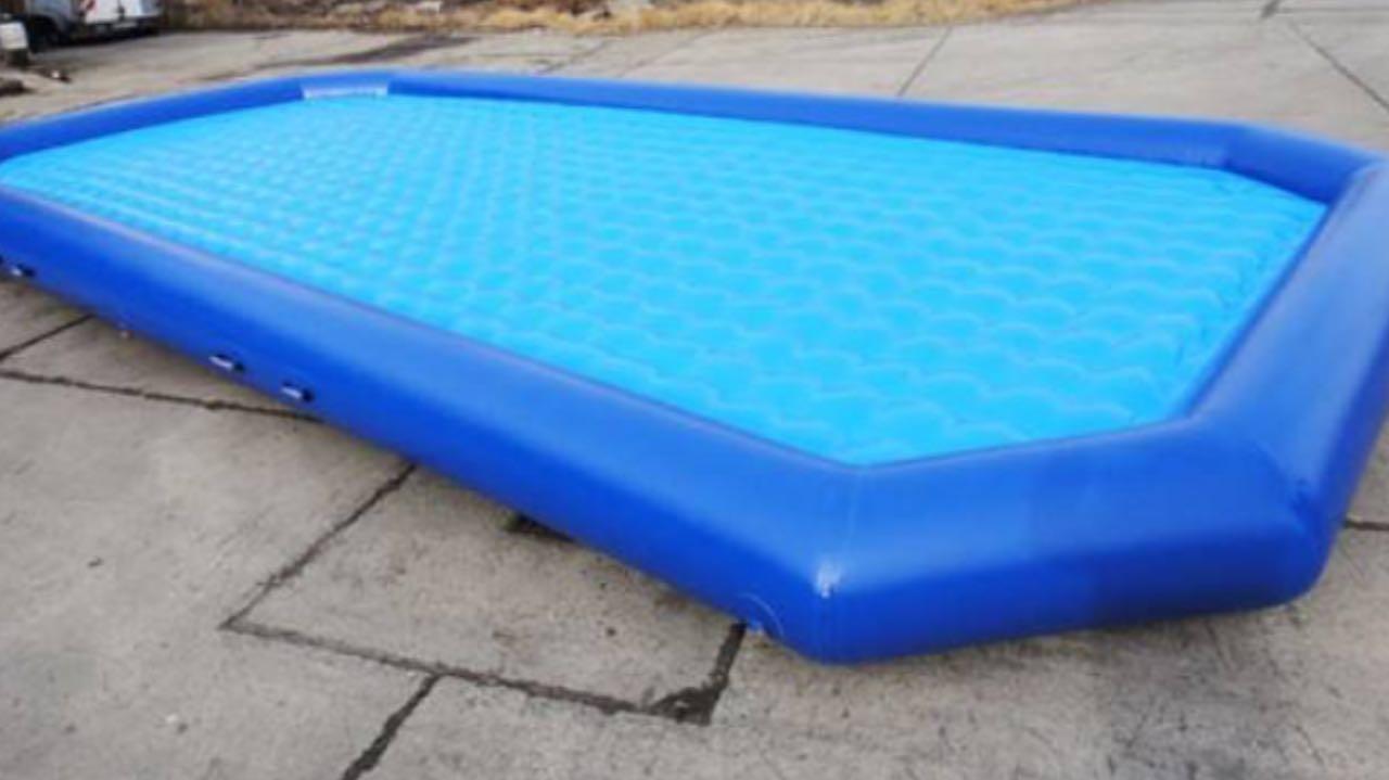 XXL-Pool in blau mieten - Funjoker in Bottrop