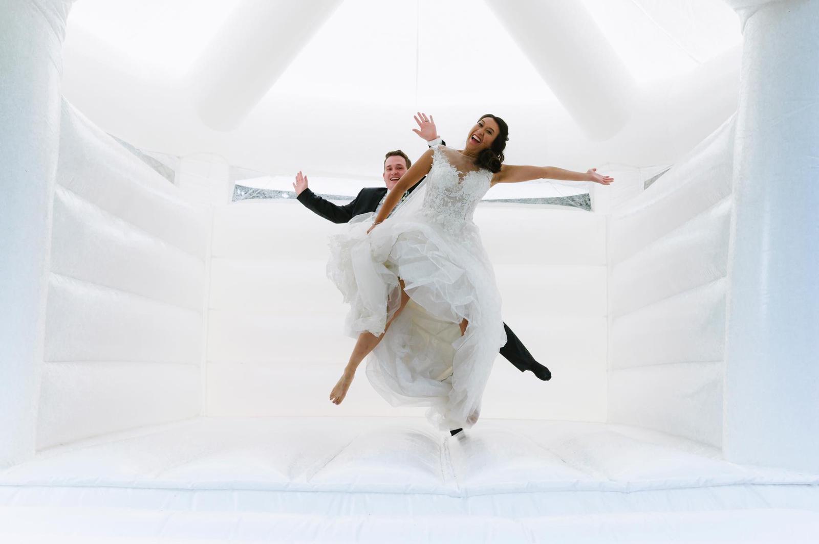 Hochzeitshüpfburg innen